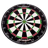 HUDORA Bristle Dartboard Winner Ø 45,8x4cm Dartscheibe Dartspiel Dart Darts Dartpfeile