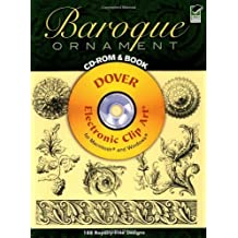 Baroque Ornament CD-ROM and Book (Dover Electronic Clip Art) by Jacques Stella (2003-12-17)