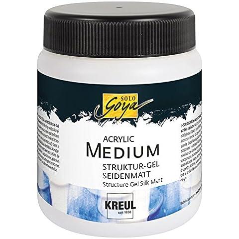 Solo Goya 86705 - Gel acrilico, barattolo da 250 ml, opaco