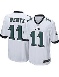 Nike Men's Away Game Jersey Philadelphia Eagles Carson Wentz #11