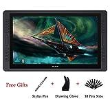 Huion KAMVAS GT-221 PRO HD IPS Tableta Gráfica Profesional Pantalla para Lápiz Monitor con 8192 Sensibilidad de Presión del Lápiz y 20 Teclas de Accesos Directos 2 Barras Táctiles