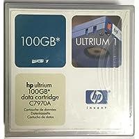 1HP Ultrium LTO 100GB datos Cartidge c7970a