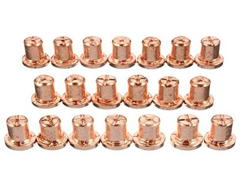 Luft-Plasma-Schneiden Cutter Verbrauchsmaterial Erweiterte für PT-31 LG 40 Torch Cut-50D 60pcs - 5