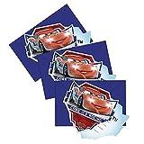 Disney Cars - Party Geburtstag Einladungskarten Motiv Ice 6 Stück