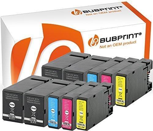 Bubprint 10x Druckerpatronen kompatibel für PGI-1500 XL PGI-1500XL PGI 1500 XL 1500XL Canon Maxify MB2350 MB2050 Multipack