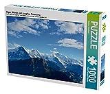 Eiger, Mönch und Jungfrau Panorama 1000 Teile Puzzle quer (CALVENDO Natur)