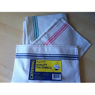 Tea Towels / Professional Catering Glass drying towels by 'Catering at Aaron Chemicals Ltd'