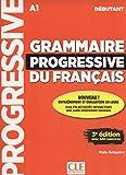 Grammaire progressive du français - Niveau débutant - 3ème édition - Livre + CD + Livre-web 100% interactif