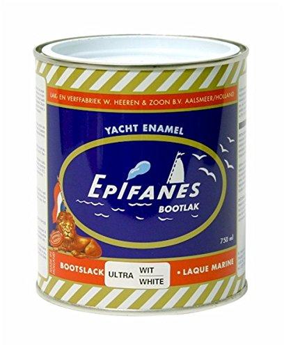 Epifanes  <strong>Ergänzende Gefahrenmerkmale</strong>   Wiederholter Kontakt kann zu spröder oder rissiger Haut führen. Enthält Cobaltbis(2-ethylhexanoat), 2-Butanonoxim. Kann allergische Reaktionen hervorrufen.