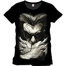 Tshirt homme Wolverine - Zoom face - Legend Icon - L, Noir