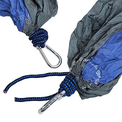 Hängematte,IntimaTe WM Heart Tragbar Parachute Haengematte Hängesessel, Hängematte Nylon, 275*140CM - 2