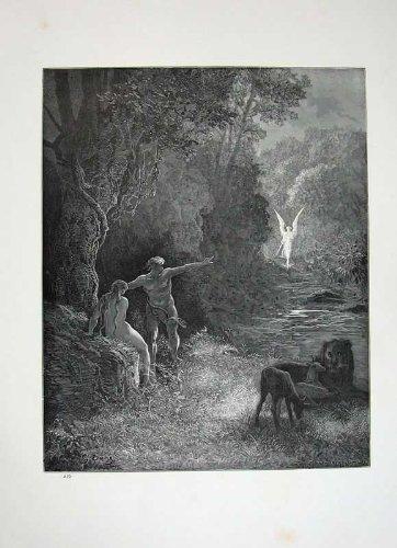Il Leone Alato Paradiso Perso 1870 di Milton della Galleria di Dore - Paradise Gallerie