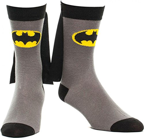 Batman Cape Socks - BATMAN SOCKEN MIT CAPE