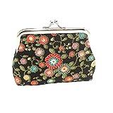 Felicove Damen Organizer Brieftaschen, kleine Brieftasche Haspe Geldbörse Handtasche Snacks Geldbörse Schlüsselhalter Taschen