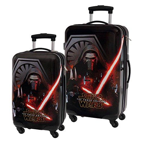 Star Wars The Force Set de Bagages, 67 cm, 86 L, Noir