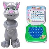 #7: Grey Talking Tom Cat And Mini Ben10 Learning Laptop