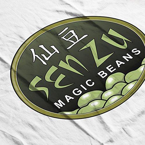Senzu Magic Beans Dragon Ball Z Men's Vest White