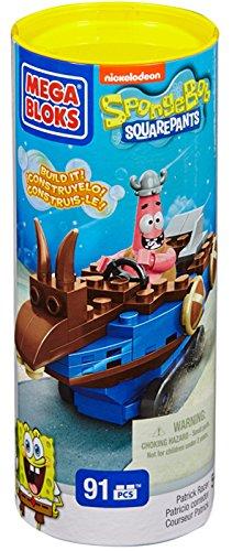 Mega Bloks 94617 - Spongebob Schwammkopf - Patrick Flitzer