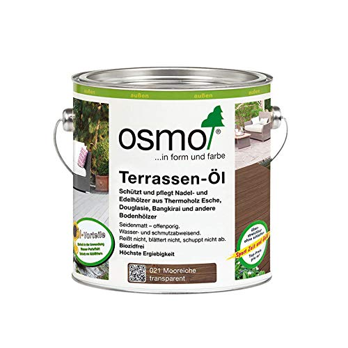 Osmo Terrassen-Öl 021 Mooreiche 2,5 Liter Gebinde