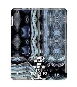 EPICCASE Be yourself Mobile Back Case Cover For Apple Ipad 2/3/4 (Designer Case)
