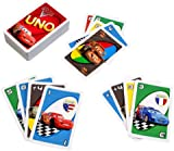 Mattel Uno Card Game - Disney Pixar Cars 2