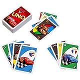 Mattel T8230 Cars 2 - Juego de cartas UNO
