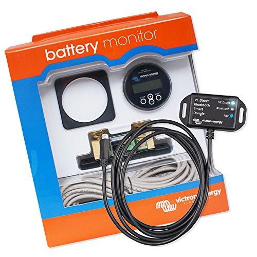Batería monitor   batería Computer   batería Wächter   Voltaje Wächter   Victron Energy Juego BMV 702con VE.Direct Bluetooth Smart Dongle
