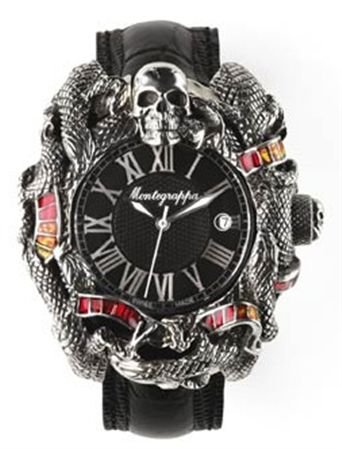 montre-montegrappa-chaos-sylvester-stallone-argent-et-email-eta-2824