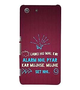 ifasho Designer Back Case Cover for Sony Xperia M5 Dual :: Sony Xperia M5 E5633 E5643 E5663 (Pertinency Education Dept)