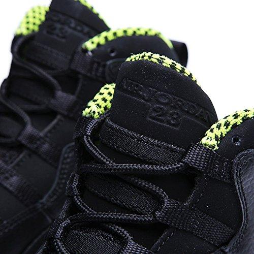Nike Jungen Air Jordan 10 Retro Bg Turnschuhe Schwarz / Grün / Grau (Schwarz / VNM Grün-Cl Gry-Anthrct)