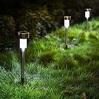 مصباح القوة الشمشية للحدائق والممر والفناء وطريق فولاذ مقاوم للصدأ وقابل للماء اثنان عشرة قطعات