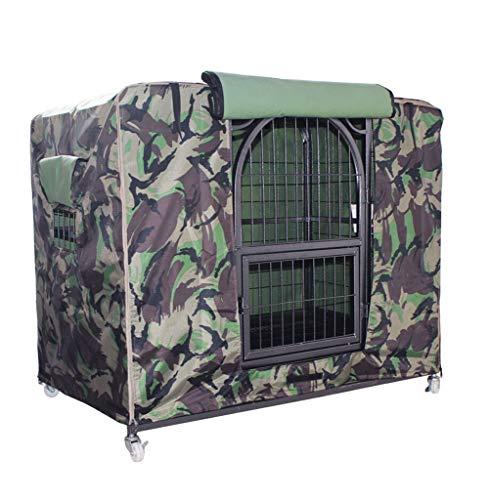 Mei xu parapolvere - copertura per gabbia per animali copertura per gabbia per cani copertura per vento e per pioggia oxford winter warm outdoor pet supplies (4 colori, 3 misure) @