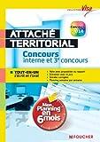 Attaché territorial : Concours interne et 3e concours