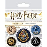 Pyramid International BP80485 Harry Potter Hogwarts - Insignia multicolor (10 x 12,5 x 1,3 cm)