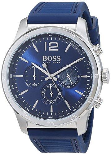 Hugo BOSS Reloj Cronógrafo para Hombre de Cuarzo con Correa en Silicona 1513526