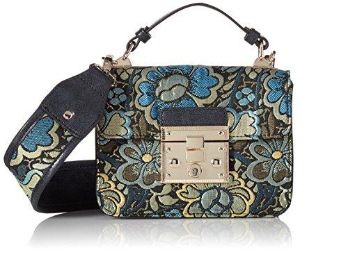 Steve Madden Damen Umhängetasche, Handtasche, blau, Einheitsgröße (Madden Steve Handtaschen)