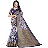 Saree(Shreeji Ethnic Saree For Women Party Wear Half Sarees Bhagalpuri Silk New Collection 2018 In Latest With Designer Blouse Beautiful For Women Party Wear Sadi Offer Sarees Collection Kanchipuram Bollywood Bhagalpuri Embroidered Free Size Georgette Sar