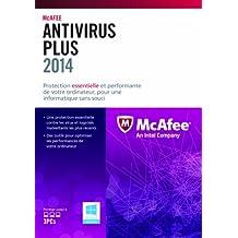 McAfee AntiVirus Plus 2014 - Seguridad y antivirus (Caja, Full, 3 usuario(s), 500 MB, 512 MB, 1 GHz)