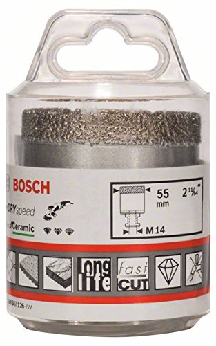 BOSCH 2608587126 - CORONAS DE DIAMANTE DRY SPEED BEST (55 MM)