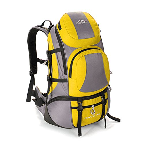 Outdoor Viaggi Zaino Moda Alpinismo Borsa Per Uomo Donna Yellow