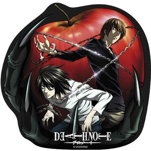 DEATH NOTE mousepad L and Light in shape [Importación Inglesa]