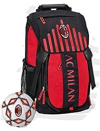 d1c8e96e3b Milan Zaino Estensibile Prodotto Originale Panini con Pallone della squadra  in Omaggio