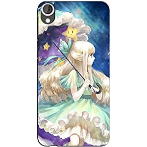 ANIME CUTE GIRL BACK COVER FOR HTC DESIRE 826
