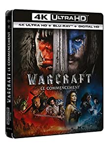 Warcraft : le commencement [4K Ultra HD + Blu-ray + Copie Digitale UltraViolet] [4K Ultra HD + Blu-ray + Digital UltraViolet]