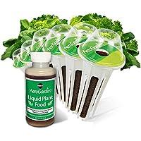 AeroGarden - Kit cápsulas semillas verduras de ensalada, 6 cápsulas