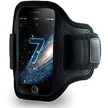 vau ActionWrap Sport-Armband Hülle für Apple iPhone 7 ( Homebutton & Touch-ID kompatibel )