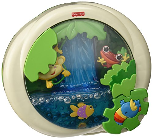 Preisvergleich Produktbild Fisher-Price Rainforest Peek-a-Boo Soother, Waterfal