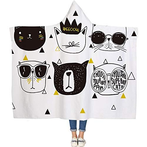 caocao1 Cartoon Decke Winterkappe Decke Mantel Doppel 3D Spezifische Größe Und Muster des Digitalen Druckens Bitte Kontaktieren Sie Uns Für Die Herstellung, Y 2 * 1,5 Meter