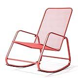 AI LI WEI Home Outdoor/Sedia a Dondolo Sedia for Adulti Sedia pigra Balcone Rocking Chair Svago Nap Sedia reclinabile