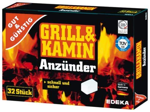 EDEKA Grill & Kamin Anzünder-Kohleanzünder,32 - Edeka Grillzubehör